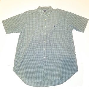 Ralph Lauren Polo Short Sleeve Button Down Shirt